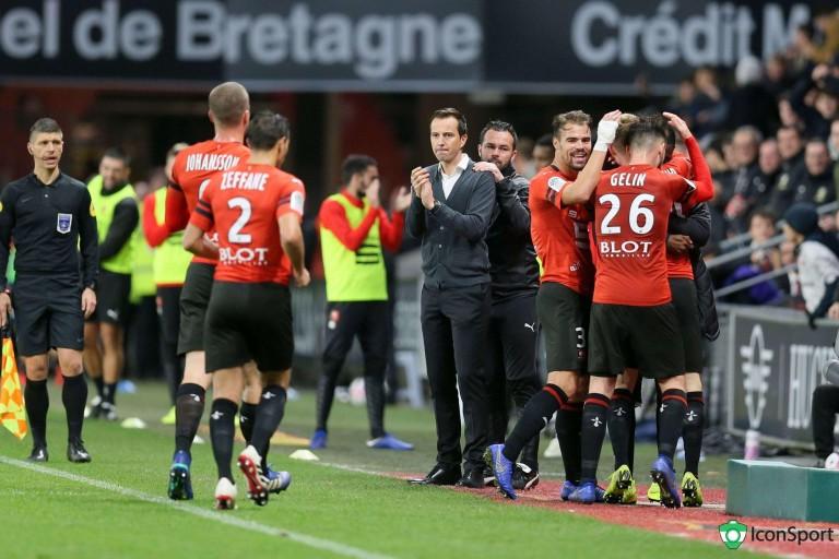 Rennes victorieux contre Amiens.