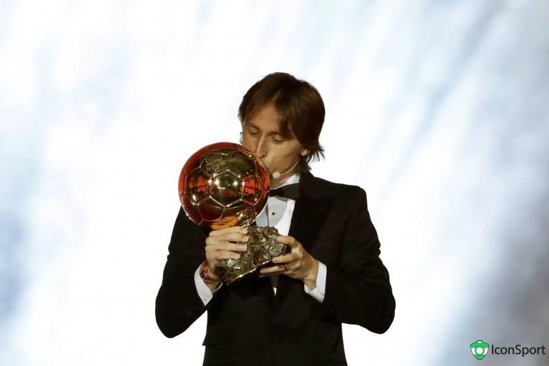 Luka Modric, milieu de terrain du Real Madrid, a remporté le Ballon d'Or 2018.