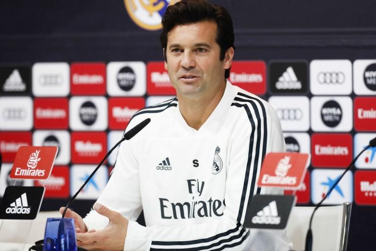Santiago Solari a fait ses adieux aux joueurs du Real Madrid.