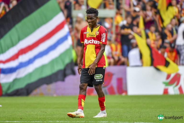 Souleymane Diarra, milieu de terrain au RC Lens.