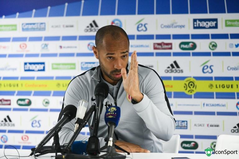 Thierry Henry, ex-coach de l'AS Monaco et nouvel entraineur de l'Impact en MLS.