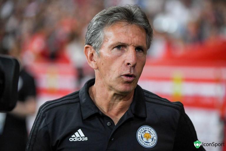 Claude Puel, entraîneur de Leicester City.