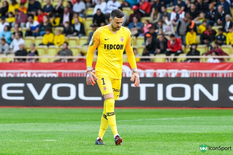 Danijel Subasic, gardien de but de l'AS Monaco
