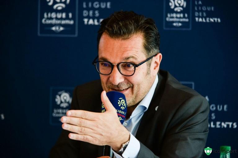 Didier Quillot, directeur général de la LFP, évoque le match RC Lens- PSG