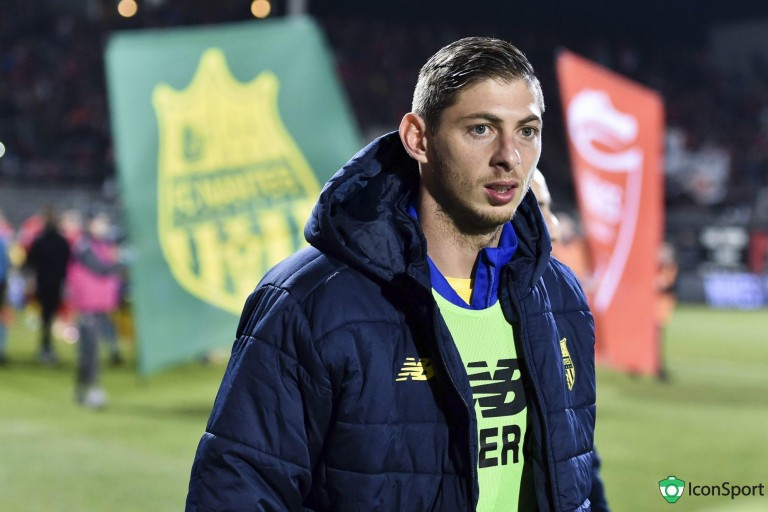 Emiliano Sala, ex-buteur du FC Nantes décédé en janvier 2019.