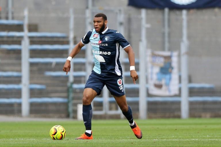 Harold Moukoudi, défenseur central au Havre AC.