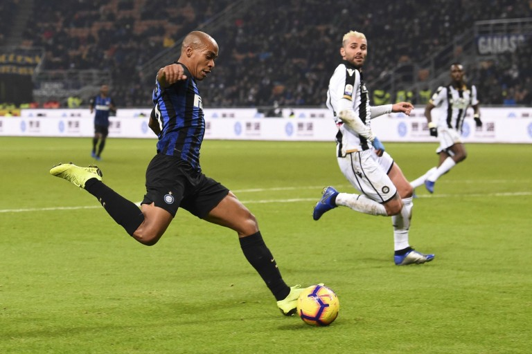 Joao Mario, milieu de terrain à l'Inter Milan.