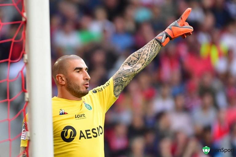Stéphane Ruffier élu meilleur joueur de l' ASSE face au Dijon FCO