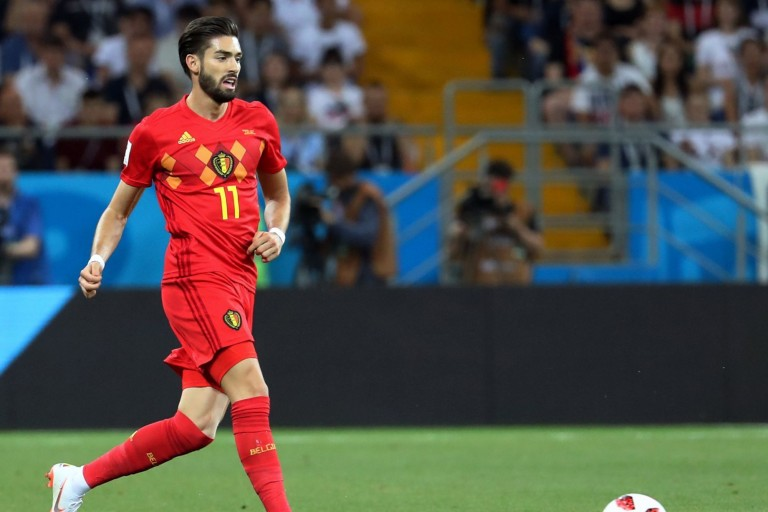 Yannick Carrasco, ancien de l'AS Monaco.