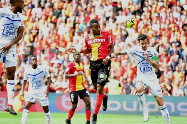 Kevin Fortuné a fait beaucoup de mal à son ancien club le RC Lens.