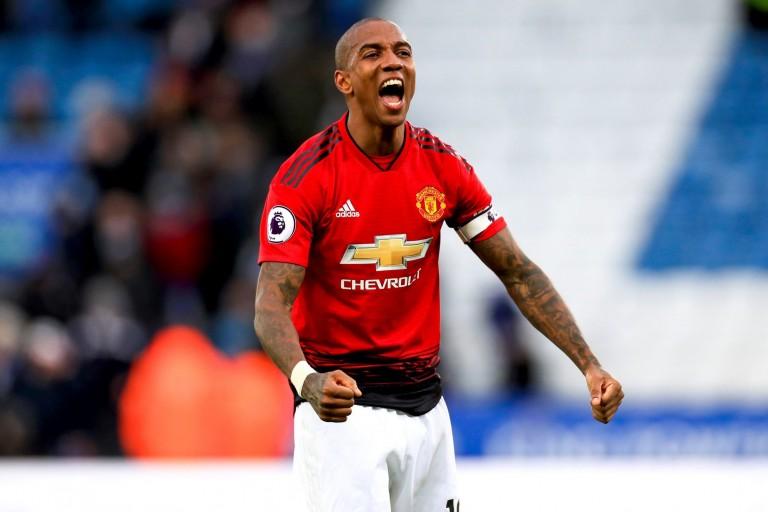 Ashley Young, défenseur de Manchester United.