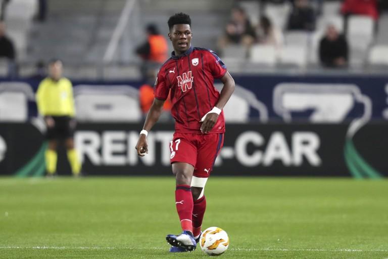 Aurélien Tchouameni partagé entre l'AC Milan et l'Inter Milan.