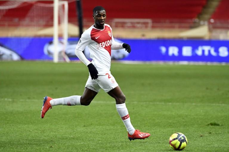 Fodé Ballo-Touré, défenseur latéral de l'AS Monaco