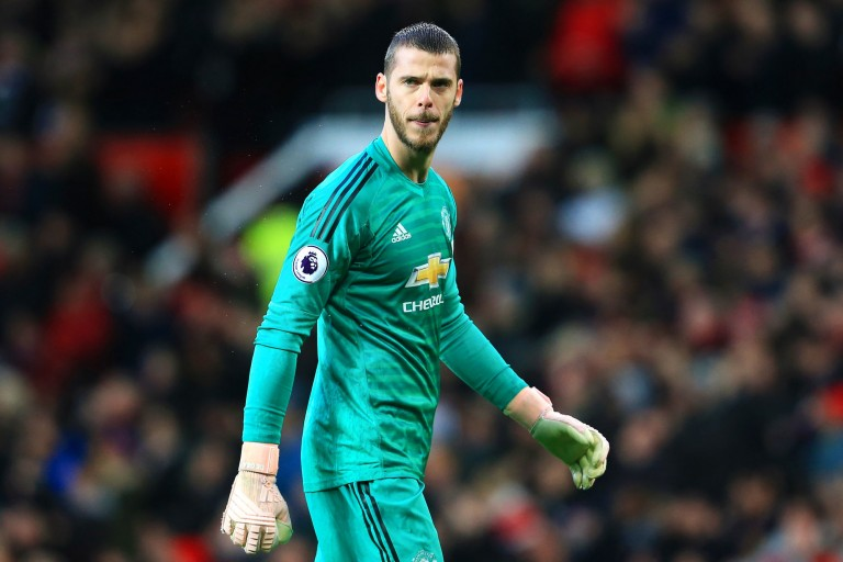 David De Gea, gardien de but de Manchester United.