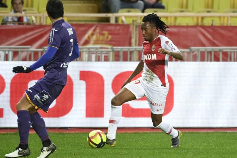 Gelson Martins, ailier de l'Atletico prêté à l'AS Monaco.