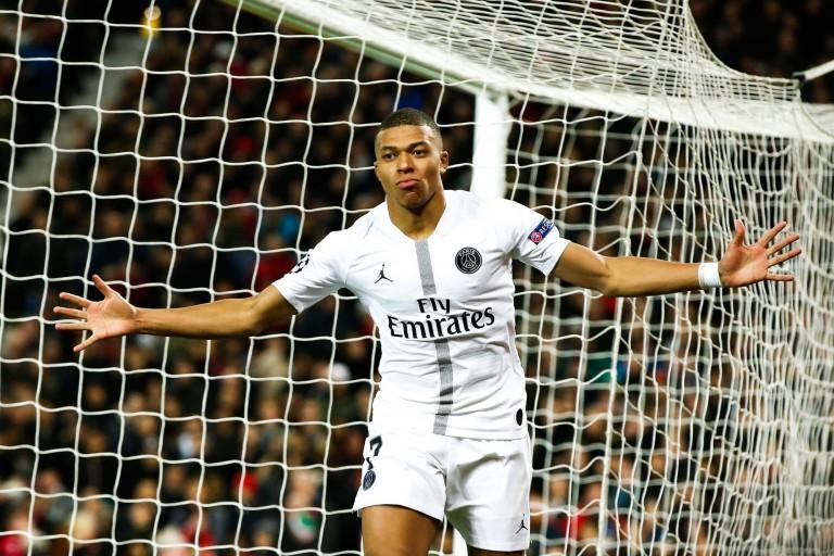 Kylian Mbappé nommé joueur du mois de février.