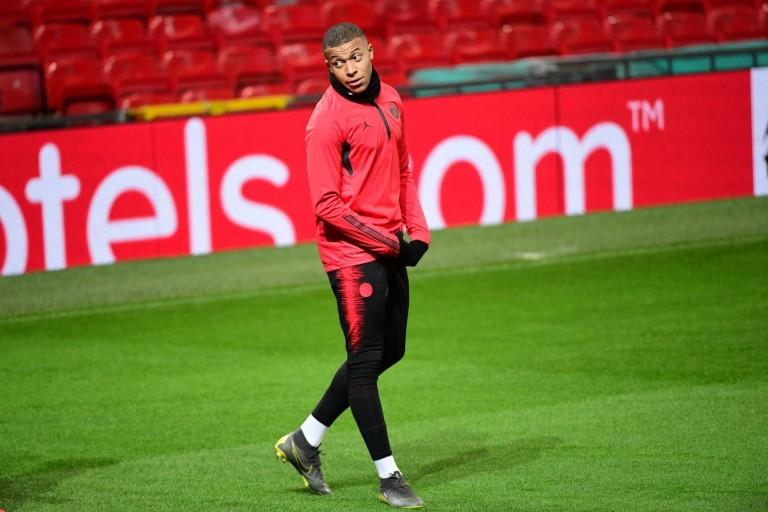 Kylian Mbappé n'était pas du déplacement du PSG à Nantes.