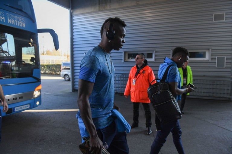 Ex-OM : 2 matches de suspension et 10 000 euros d'amende pour Balotelli