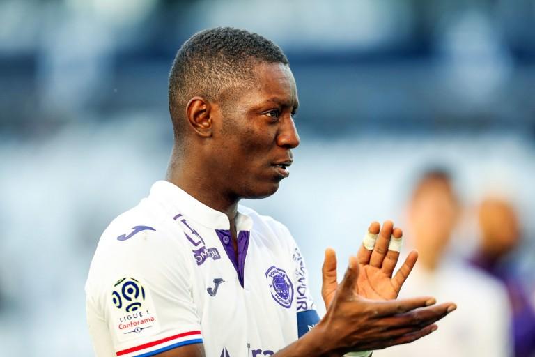 Max-Alain Gradel, capitaine du Toulouse FC.
