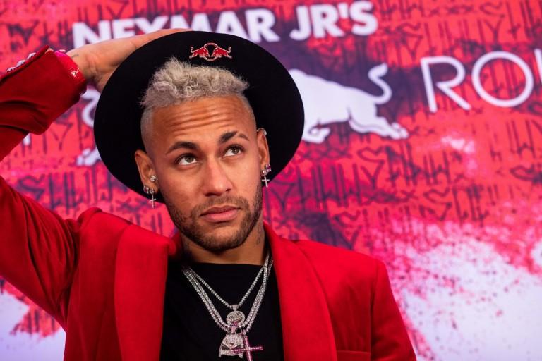 Neymar lors de son anniversaire
