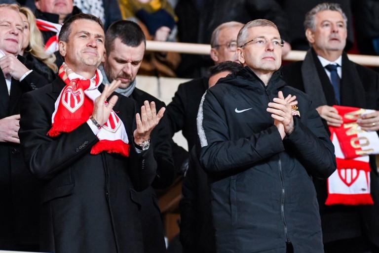 Oleg Petrov et Dmitry Rybolovlev, le propriétaire de l'AS Monaco.