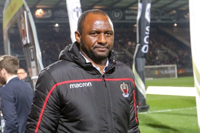 Patrick Vieira, entraineur de l' OGC Nice, s'offre une nouvelle recrue.