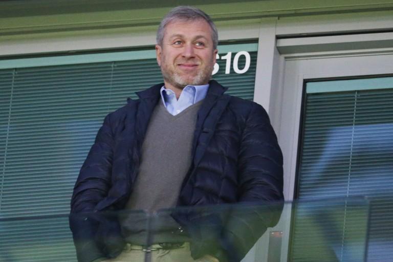 Roman Abramovich, président de Chelsea.
