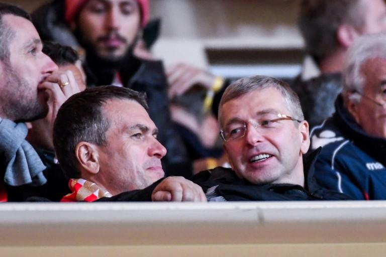 Oleg Petrov (vice-président) et Dmitri Rybolovlev, le propriétaire de l'AS Monaco.