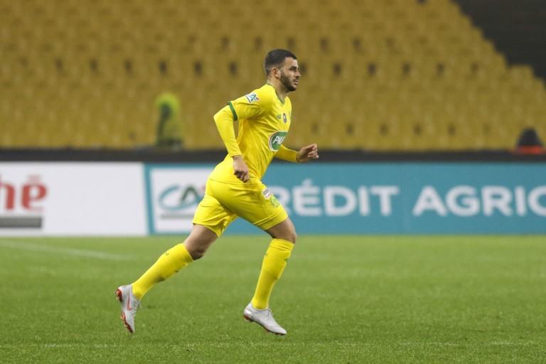 Valentin Eysseric, milieu offensif de la Fiorentina prêté au FC Nantes.
