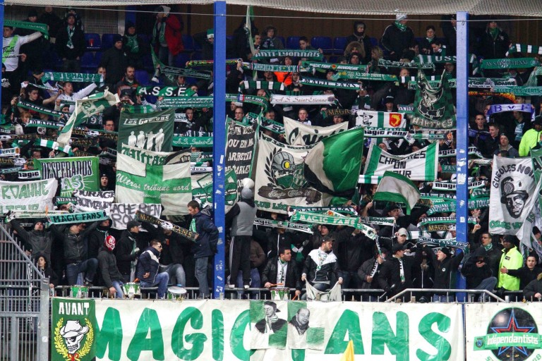 Magic Fans, groupe de supporters ultras de l' ASSE.