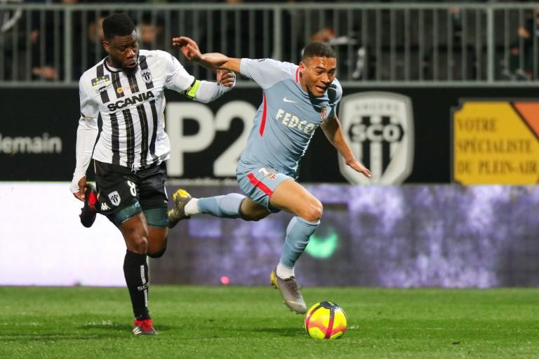Carlos Vinicius, attaquant de l'AS Monaco.