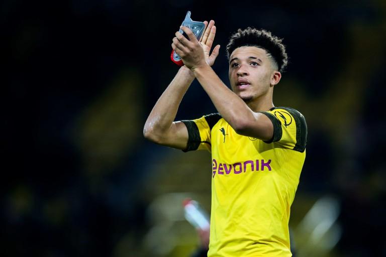 Très performant avec le Borussia Dortmund cette saison, Jadon Sancho suscite l'intérêt de Manchester United