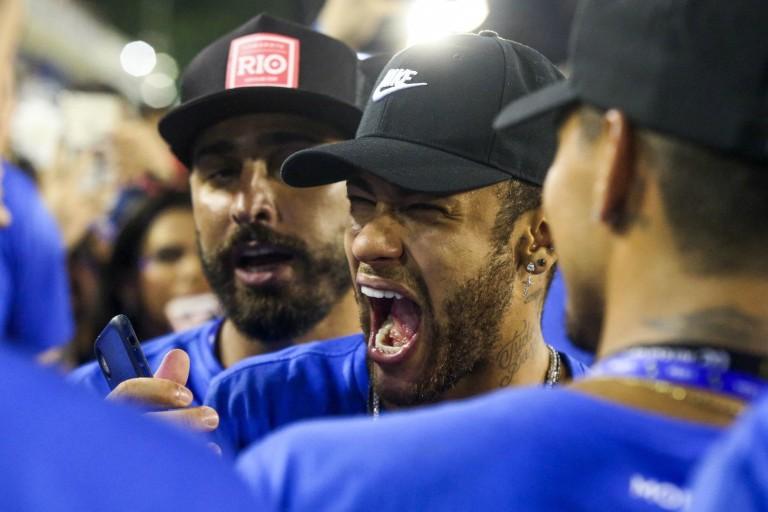 Neymar au Carnaval de Rio.