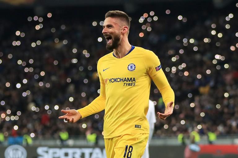 Olivier Giroud toujours efficace avec Chelsea.