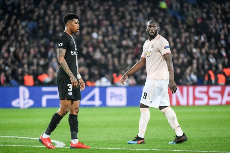 Romelu Lukaku sous le maillot de Manchester United