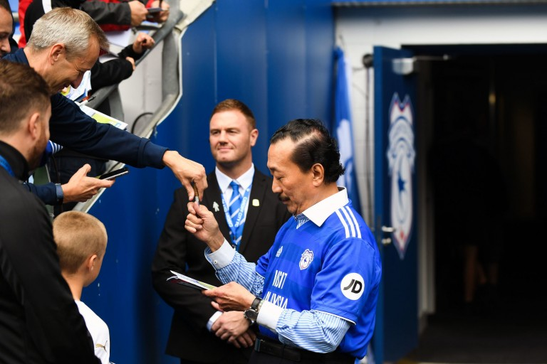 Vincent Tan, propriétaire de Cardiff City qui doit au FC Nantes.