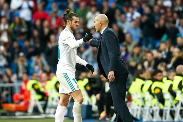Gareth Bale et Zinedine Zidane au Real Madrid.
