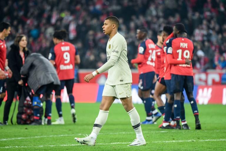 Kylian Mbappé et le PSG se sont éffrondrés à Lille (1-5).