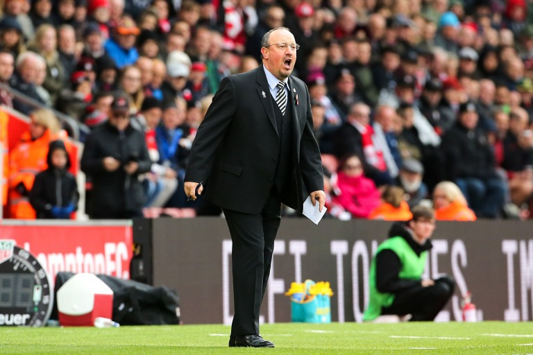 Rafael Benitez , Manager de Newcastle.
