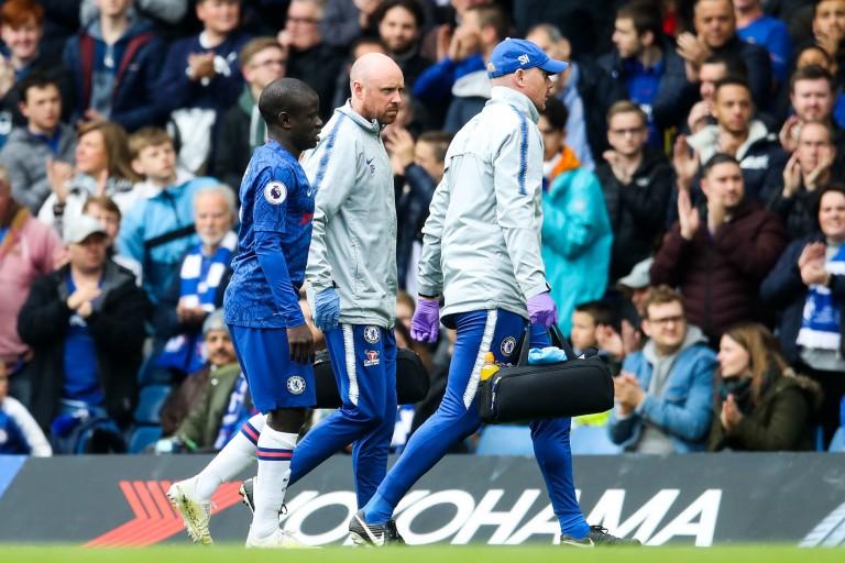 N'Golo Kanté blessé lors de Chelsea - Watford et déclaré forfait par Maurizio Sarri.