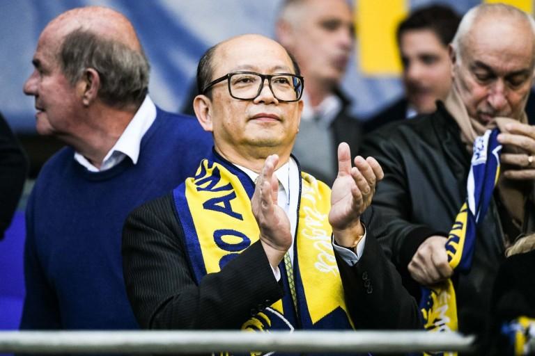 Wing Sang Li, président démissionnaire du FC Sochaux.