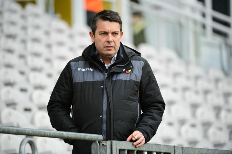 Arnaud Pouille, le directeur général du RC Lens