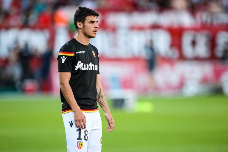 Fabien Centonze, (ex-RC Lens) nouvel recrue du FC Metz.