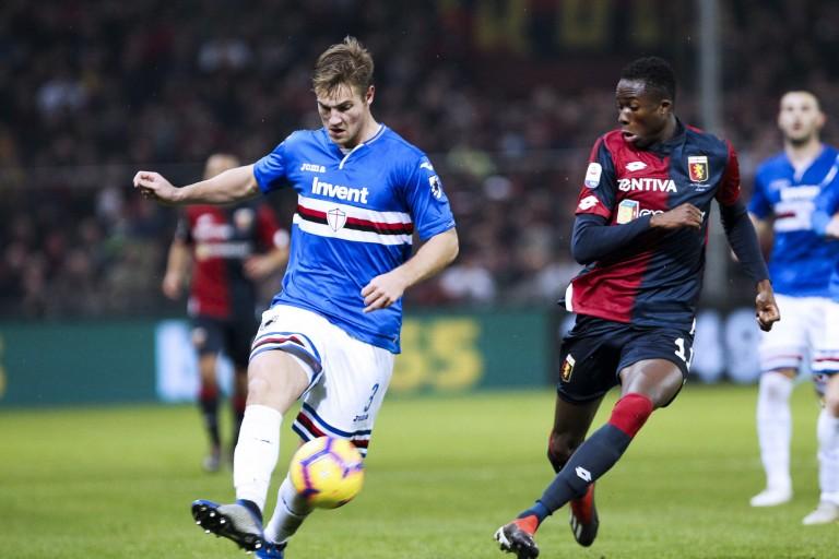 Joachim Andersen (Sampdoria) aurait trouvé un accord avec l' OL.