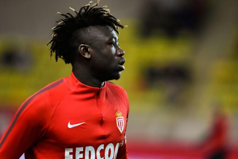 Kévin N'Doram, milieu défensif de l'AS Monaco visé par le RC Lens..