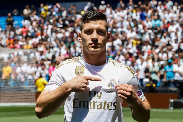 Luka Jovic peine à s'imposer au Réal Madrid.