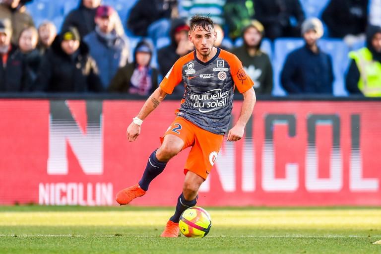 Ruben Aguilar, défenseur du Montpelier HSC, courtisé par l' OM et Monaco.