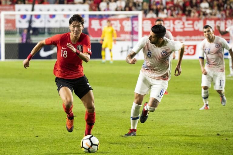 Hwang Ui-Jo, le nouvel attaquant des Girondins de Bordeaux.