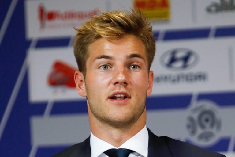Joachim Andersen, défenseur central recruté cet été par l' OL