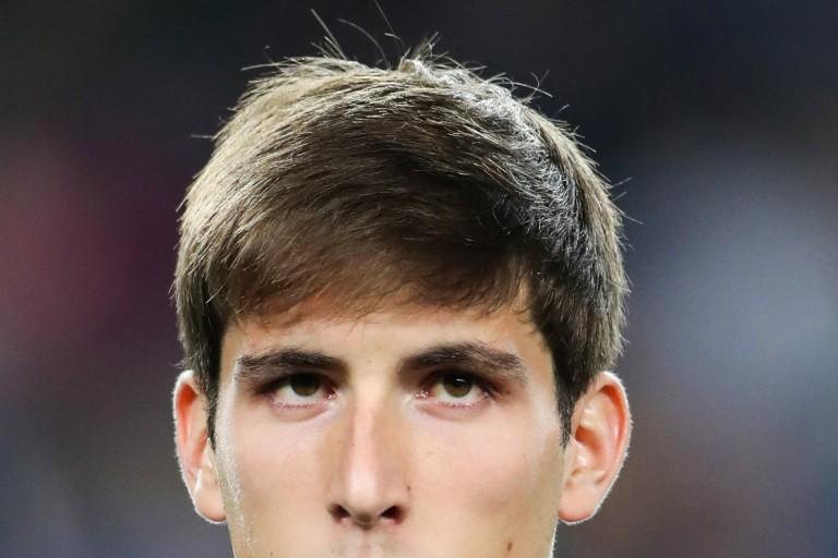 Juan Miranda, joueur du Barça convoité par l' OM
